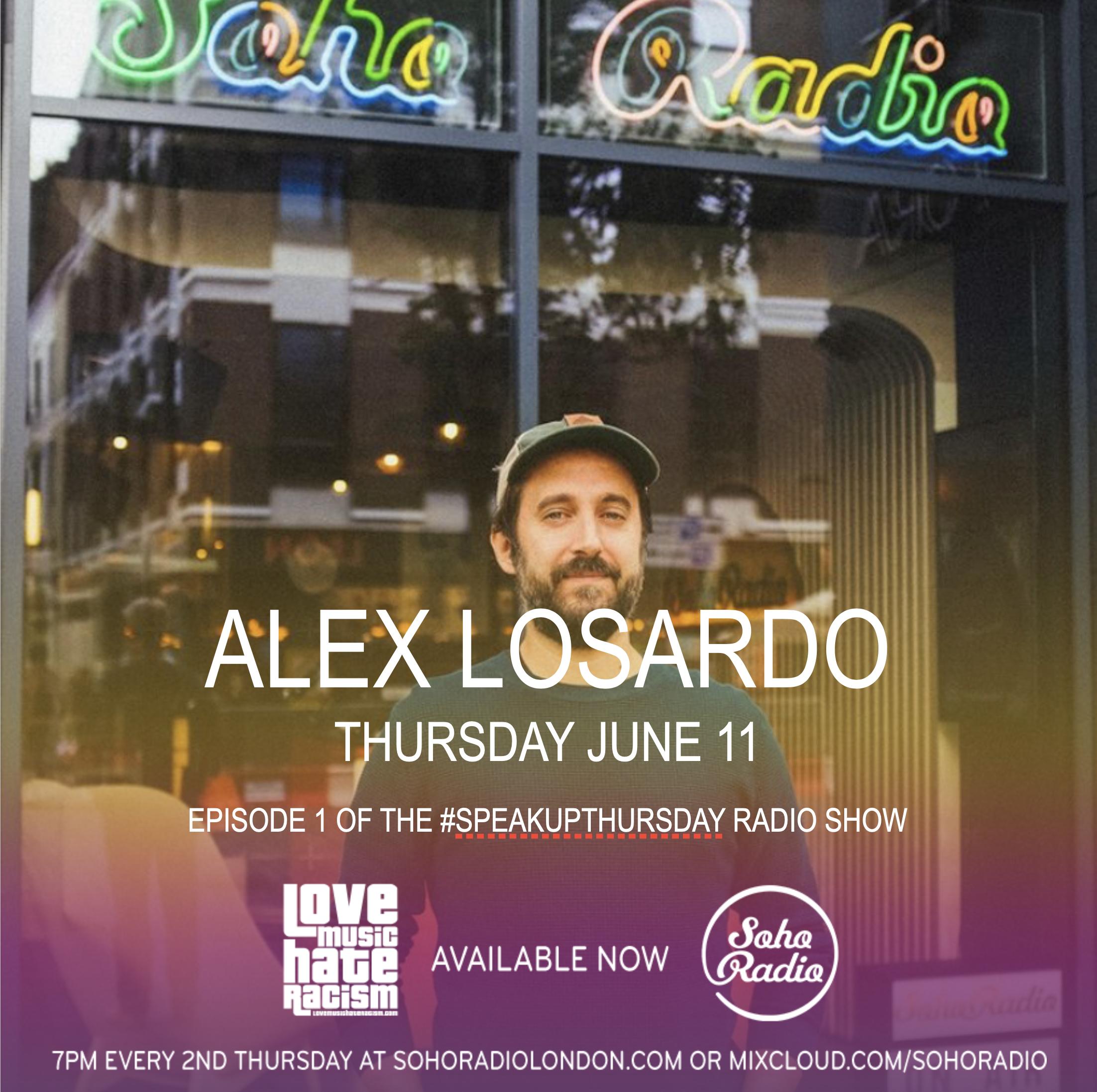 #speakupthursday featuring Alex LoSardo