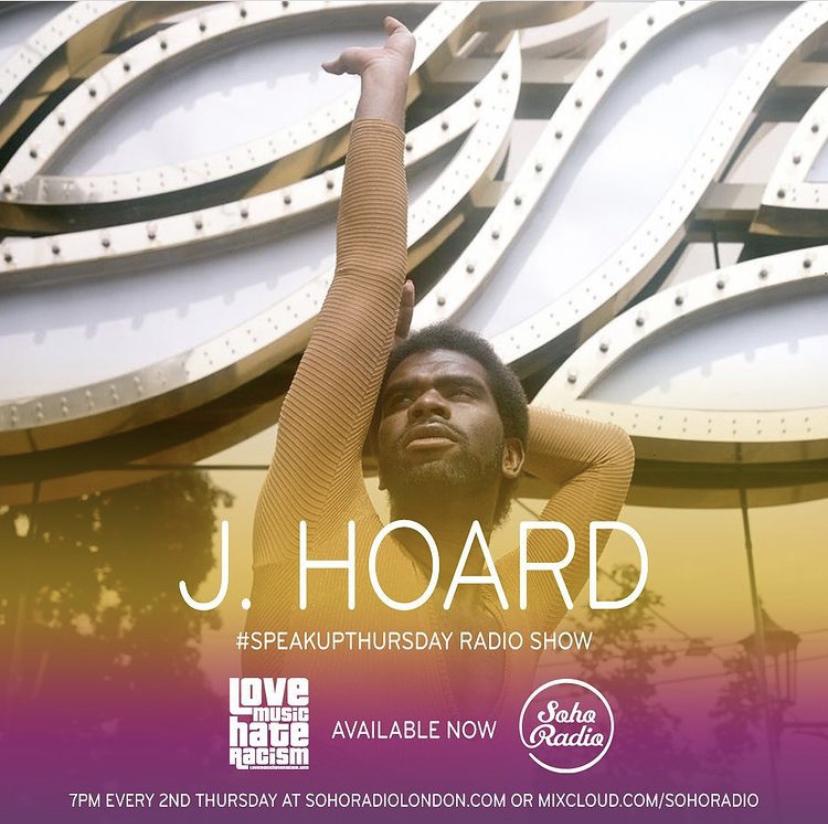 #speakupthursday featuring J. Hoard