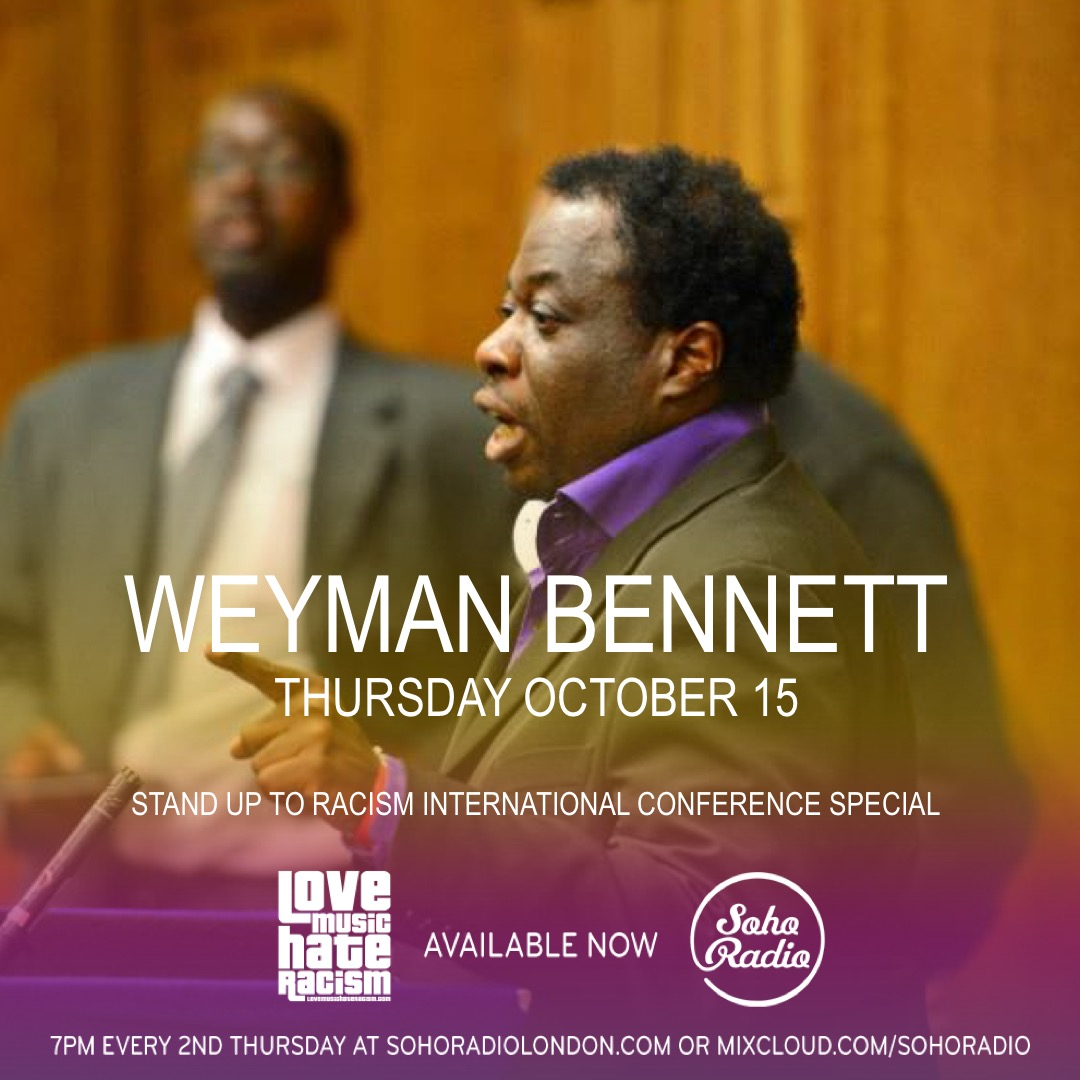 #speakupthursday featuring Weyman Bennett