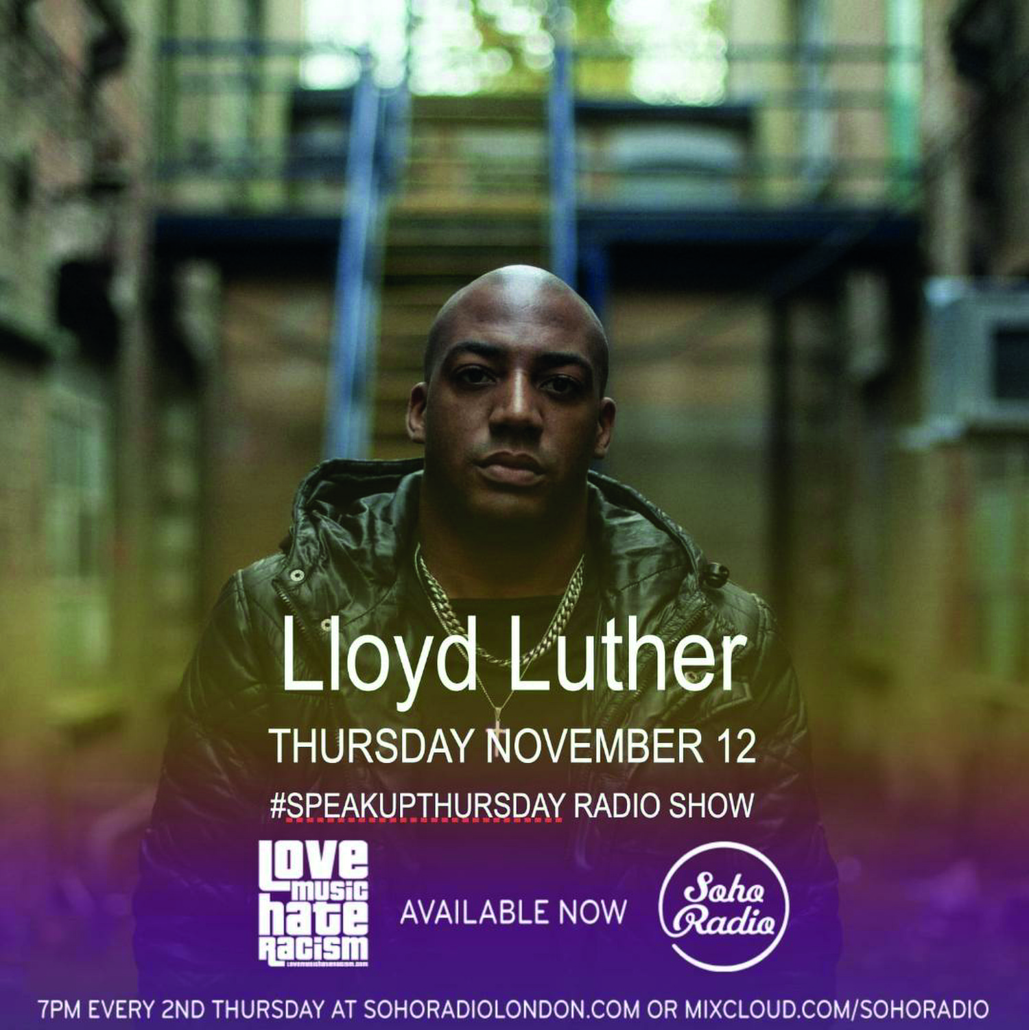 #speakupthursday featuring Lloyd Luther