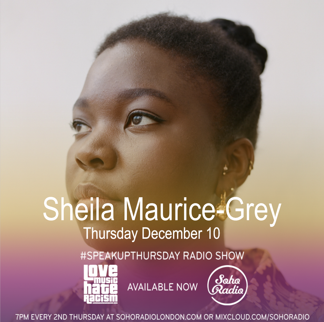 #speakupthursday featuring Sheila Maurice-Grey
