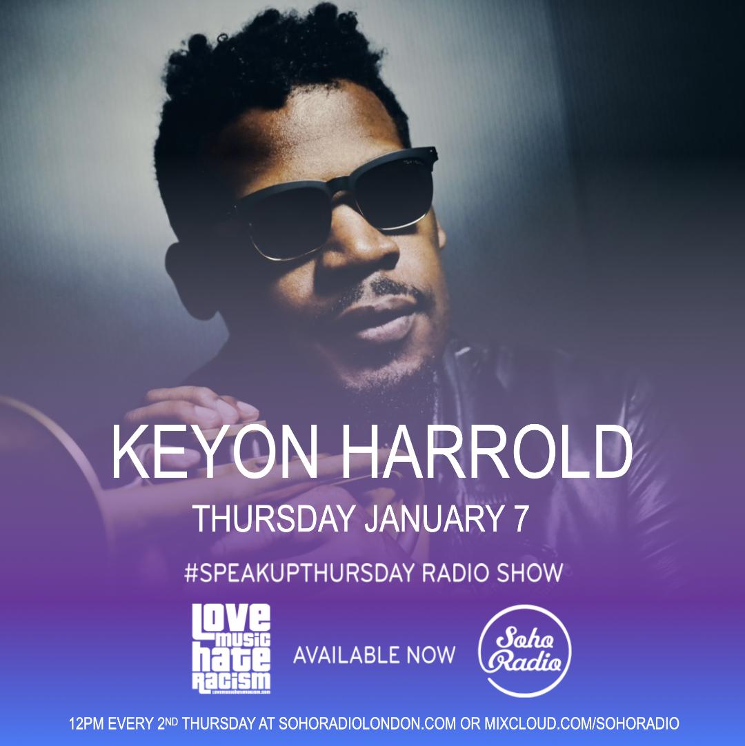 #speakupthursday featuring Keyon Harrold