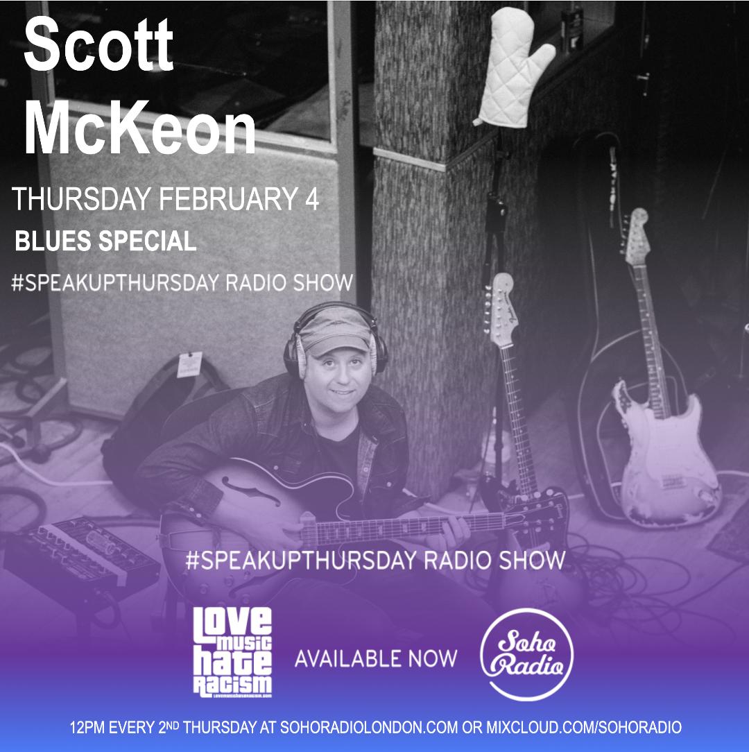 #speakupthursday featuring Scott McKeon