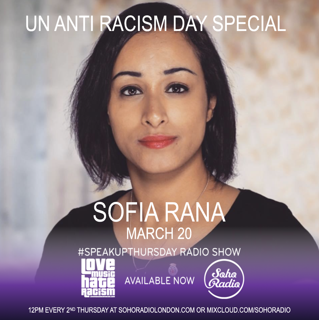 #speakupthursday featuring Sofia Rana