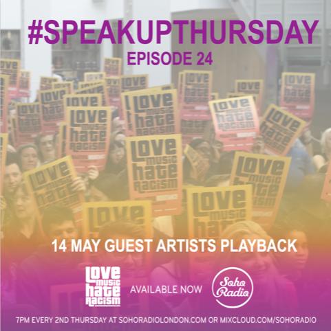 #speakupthursday 24 artist playback