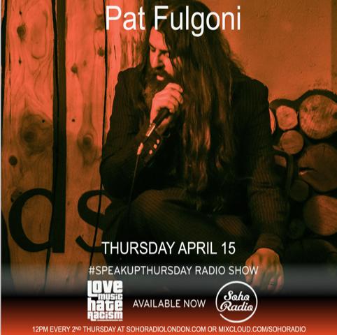 #speakupthursday featuring Pat Fulgoni