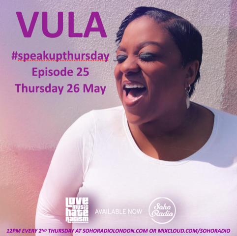 #speakupthursday featuring Vula Malinga