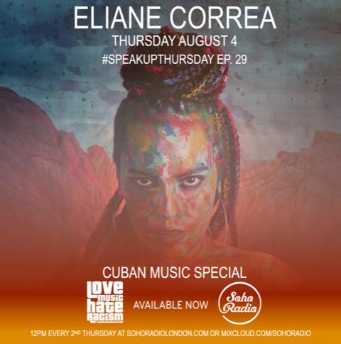 #speakupthursday featuring Eliane Correa
