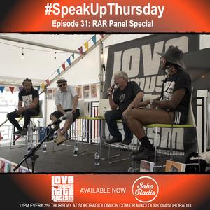 #speakupthursday RAR panel special