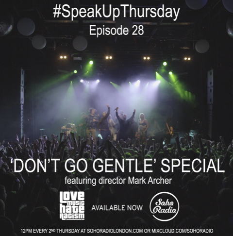 #speakupthursday featuring film director Mark Archer