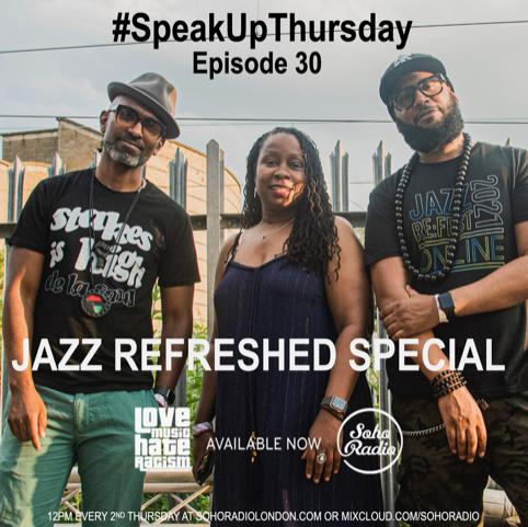 #speakupthursday Jazz Refreshed special